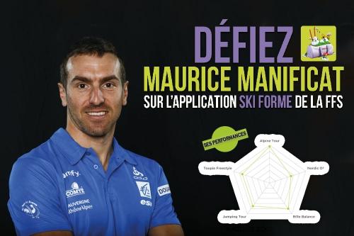 Comme Maurice Manificat, mesurez-vous aux tests Ski Forme