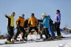 Au sommet de ma forme sur les skis !